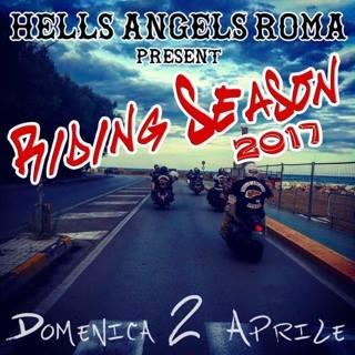 HAMC Roma Riding Season 2 Aprile 2017