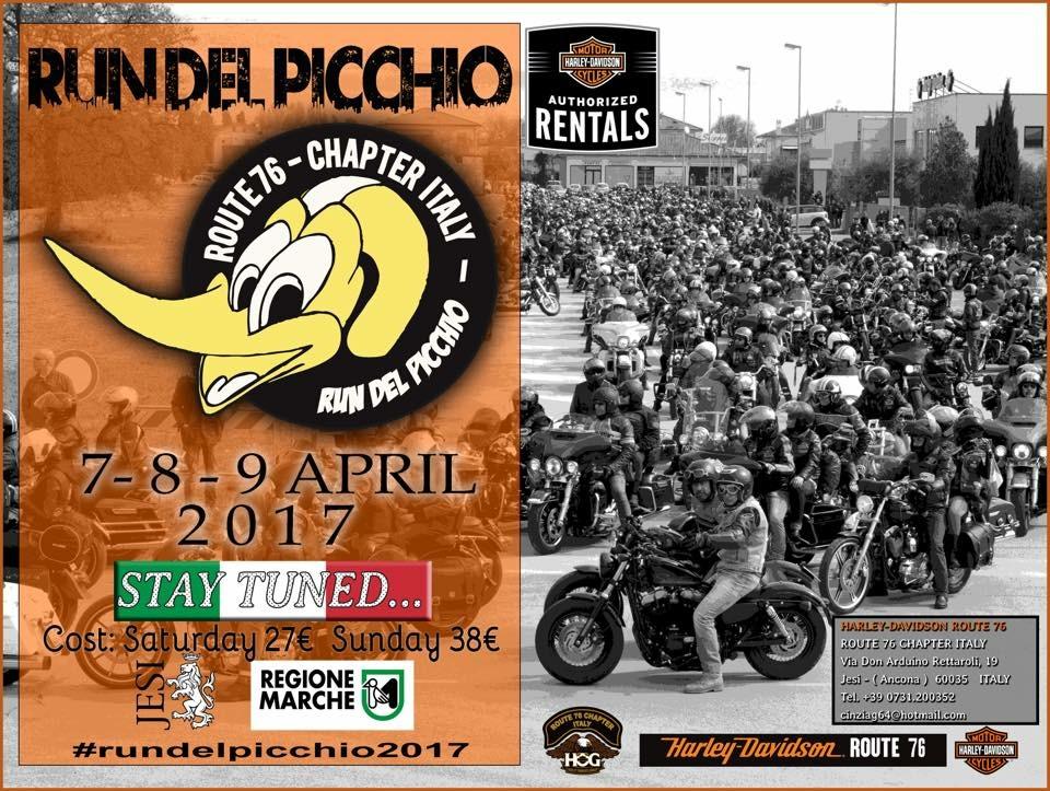 Run del Picchio 8-9 Aprile 2017