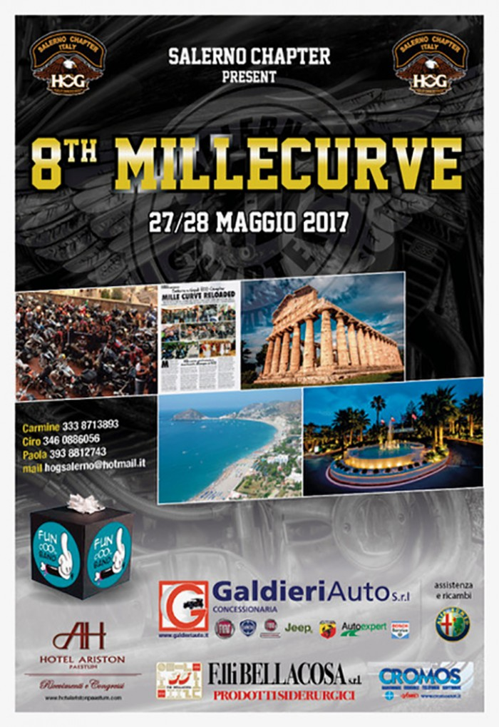 8th Millecurve, Salerno Chapter