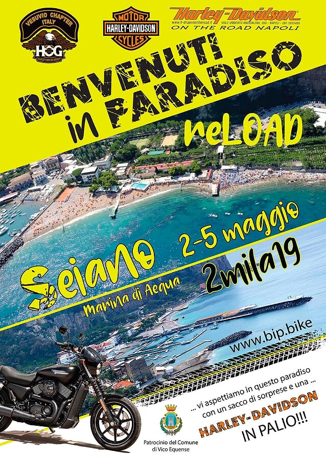 Benvenuti in Paradiso Reload by Vesuvio Chapter 3-5 maggio 2019
