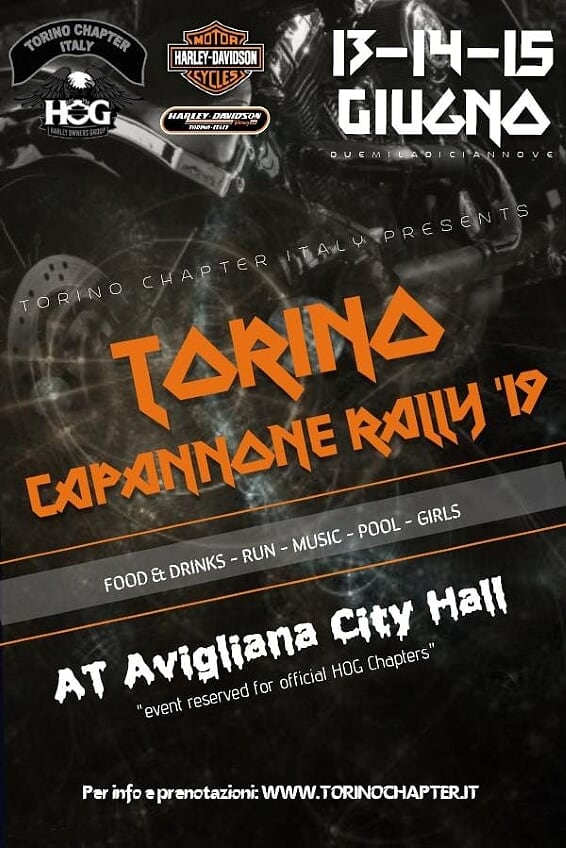 Capannone Rally by Torino Chapter