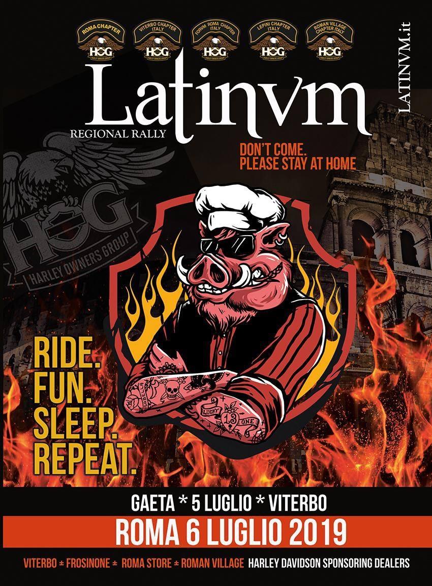 Latinvm Regional Rally - Viterbo 5 Luglio 2019