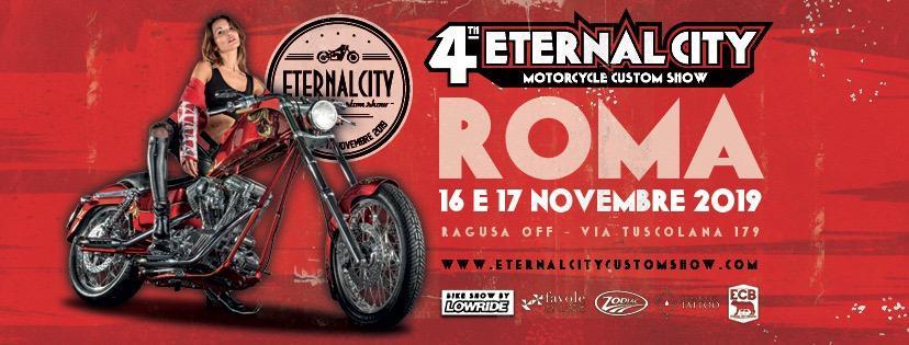 4th Eternal City Motorcycle Custom Show 16-17 novembre 2019