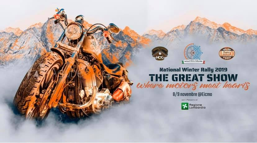 National Winter Rally 2019 by Legnano Chapter