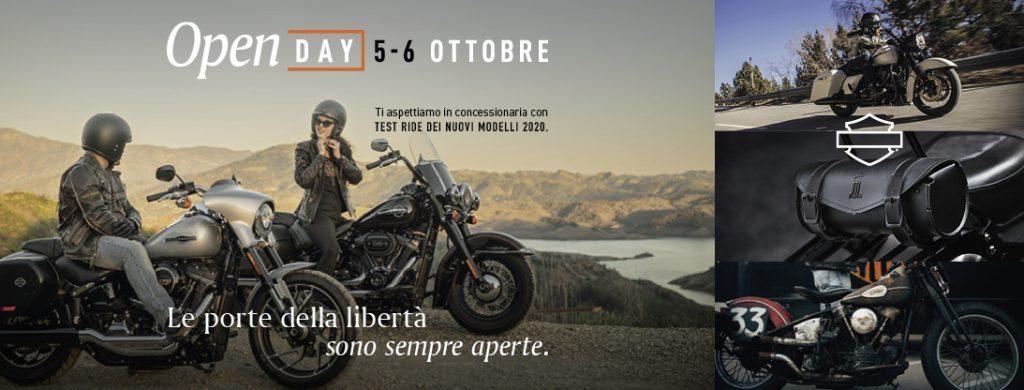 Open Day Harley Davidson Store Roma: 5-6 ottobre 2019