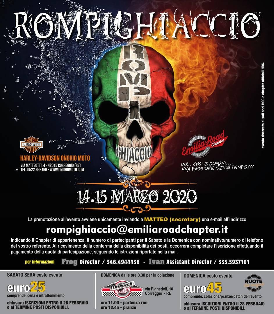 Rompighiaccio 2020 by Emilia Road Chapter: 13-15 marzo 2020